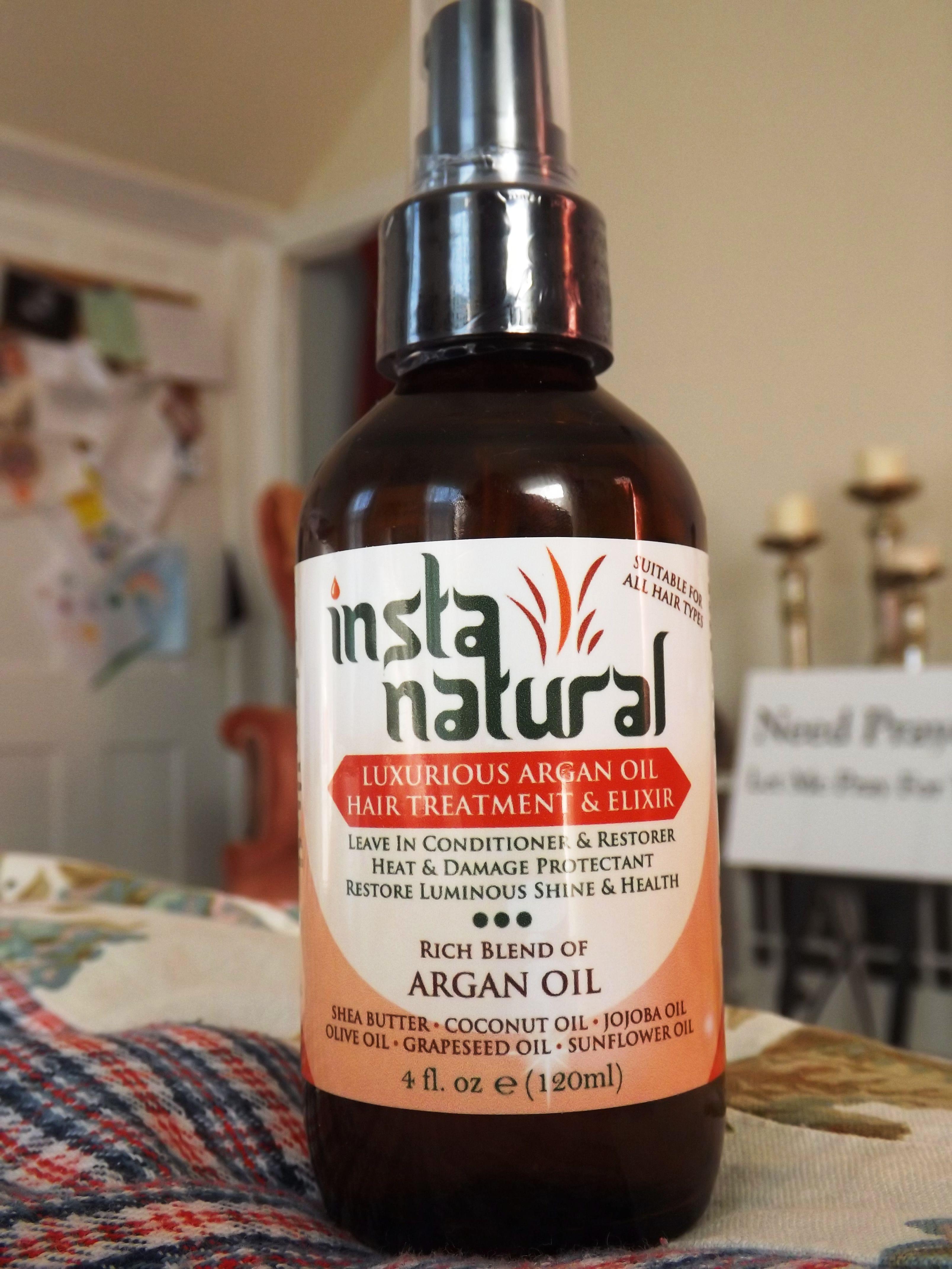 Favorite Hair Treatment Insta Natural Luxurious Argan Oil Hair