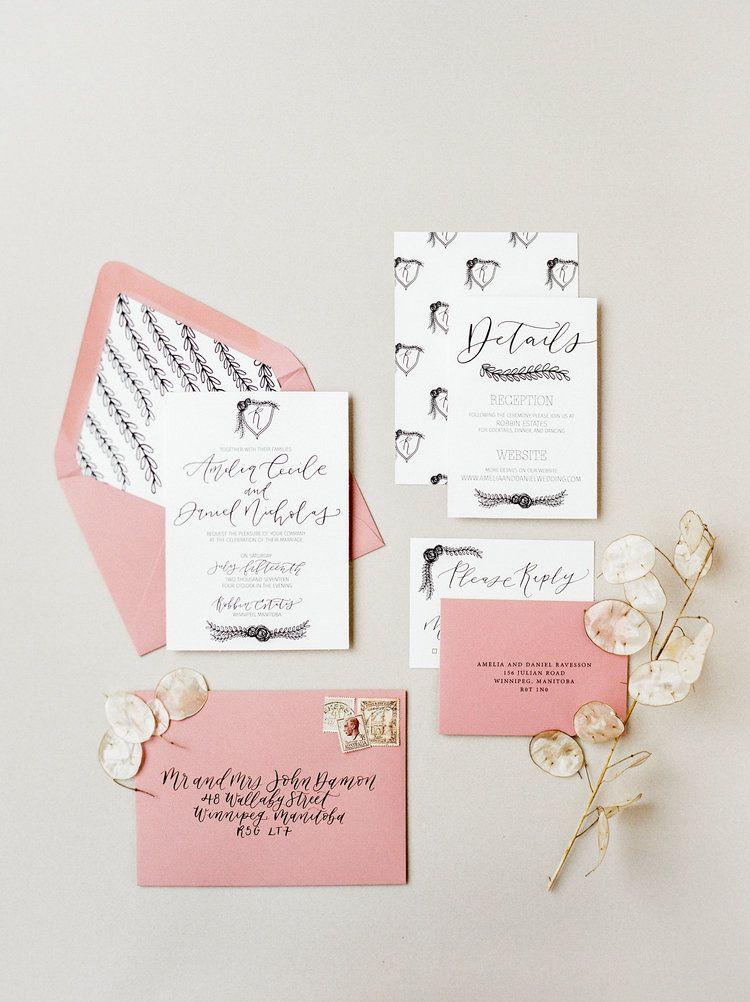 The Regal Suite Semi custom wedding invitation