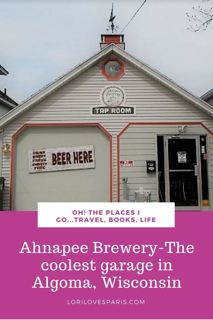 Ahnapee Brewery in Algoma WisconsinThe Coolest 2 Car