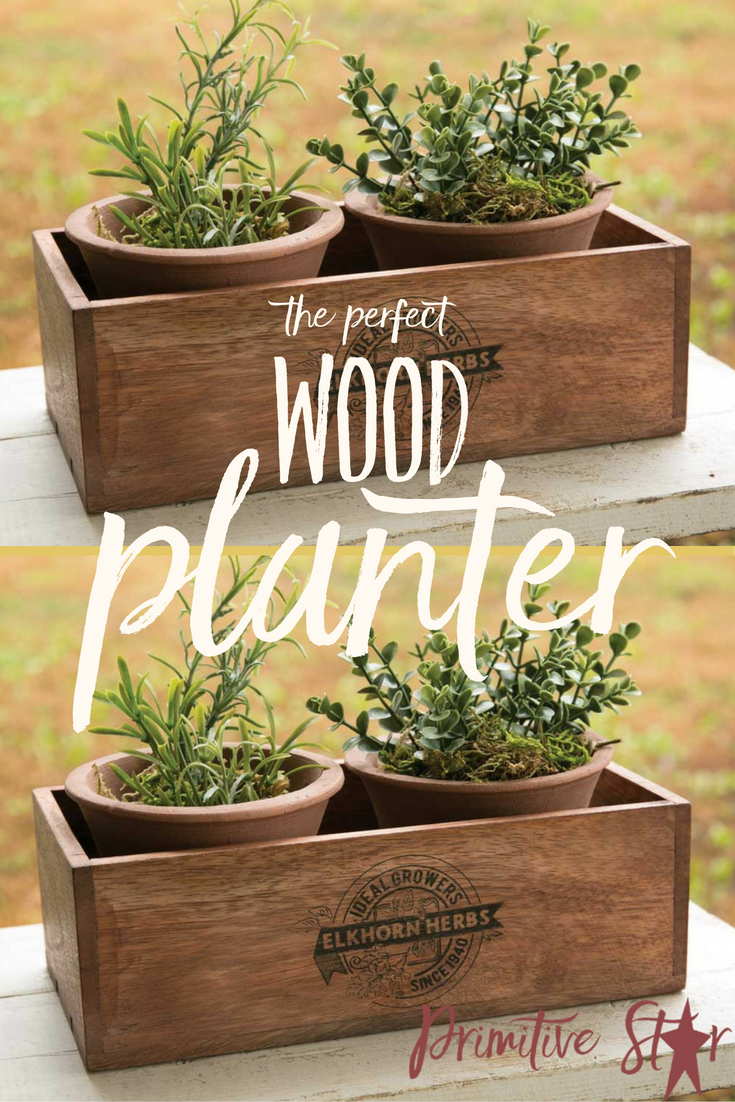 Elkhorn Herbs Planter with Two Pots | Gardening | Pinterest | Herb ...