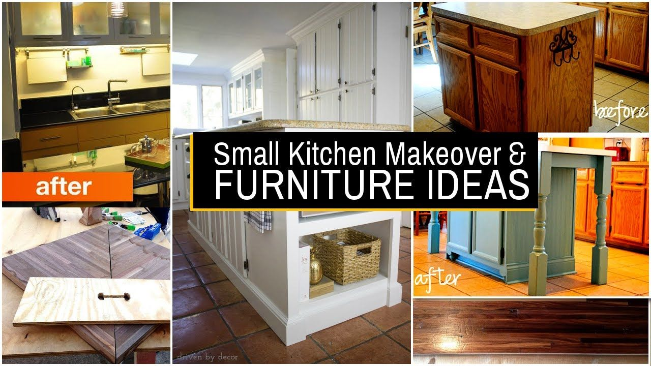 20 small kitchen makeover and furniture ideas youtube diy rh pinterest com