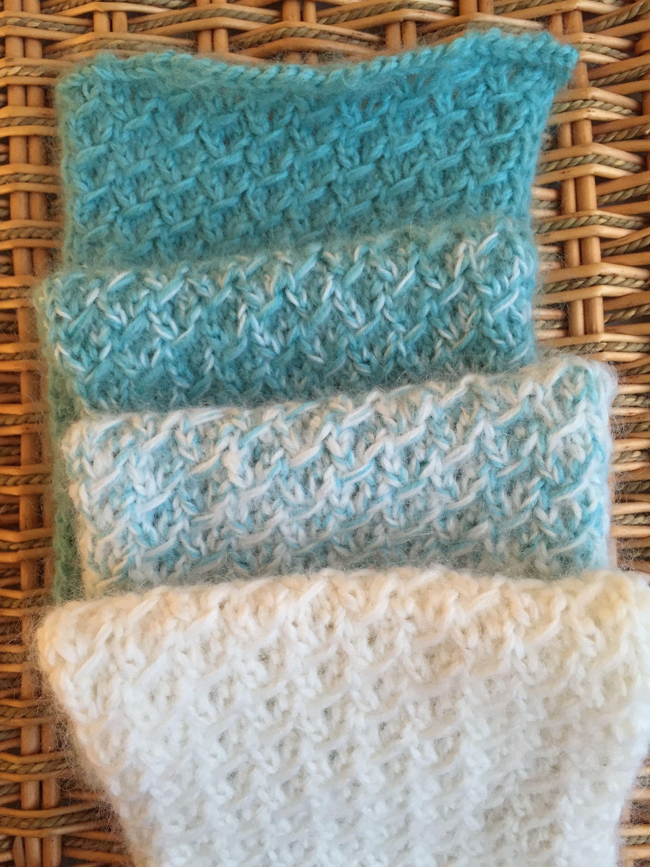 Fuzzy Ombre Scarflet | A Free Pattern from Alaska Knit Nat | KNIT ...