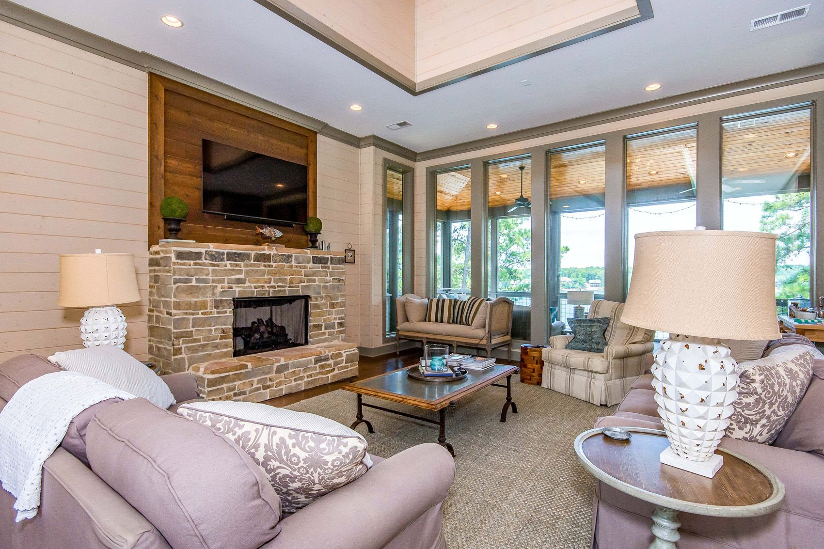 Living Room Alexander City Ridgecrest Home