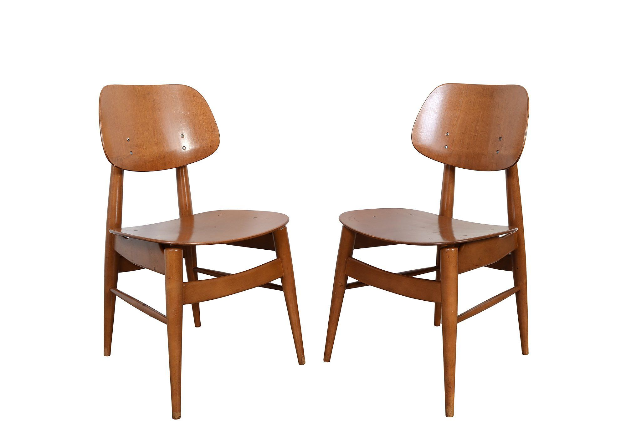 Thonet Chairs Bent Wood Chairs Mid Century Modern by