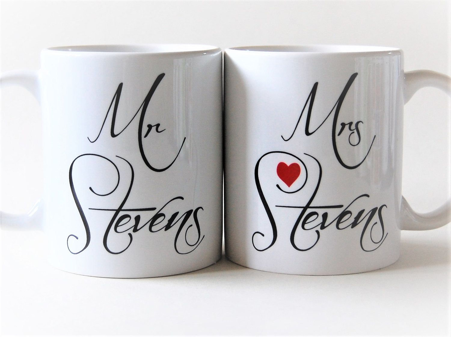 Mr And Mrs Mugs Personalised By Totalmug Gift For Wedding Mugs