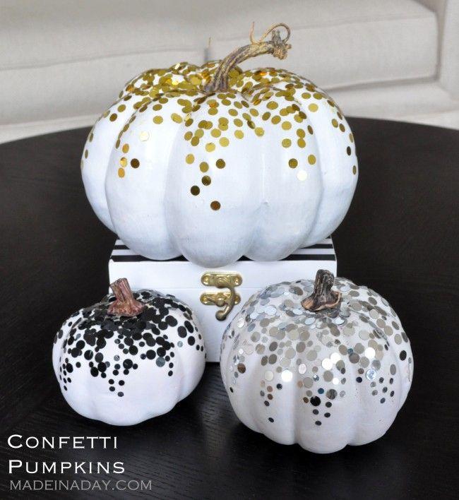 3 IDEAS PARA DECORAR CON CALABAZAS en Otoño! Ideas para, 3) and Ideas - simple halloween decorations to make