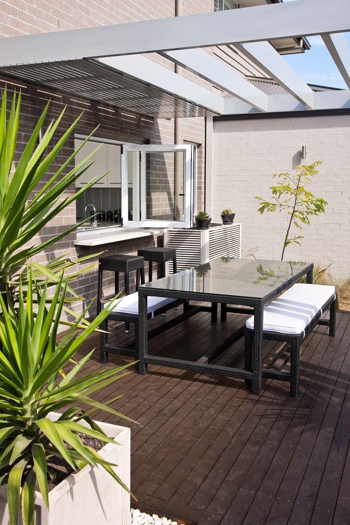 Bifold window from kitchen interior Pinterest Ideas cocinas