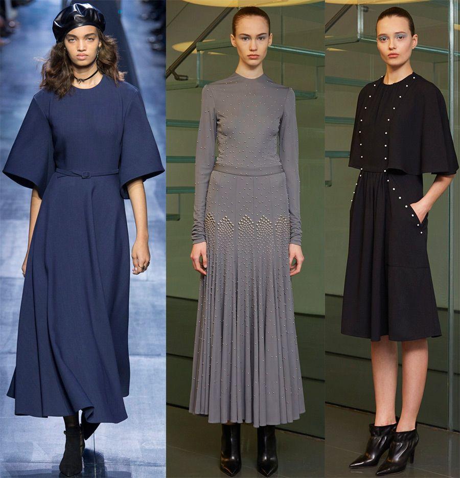 Стильные зимние платья 2019 – модели на каждый день в 2019 году