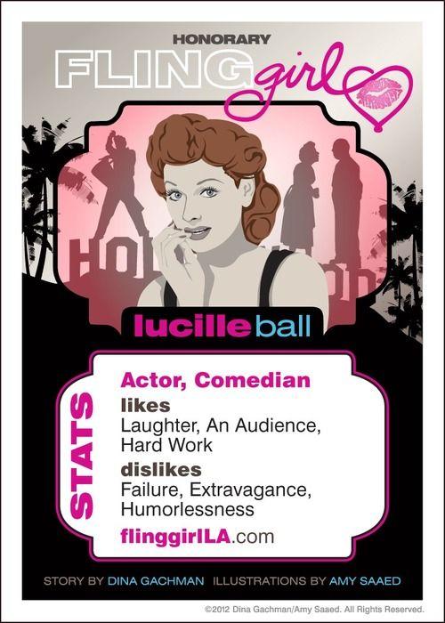 Meet Lucy! http://flinggirlla.com/meet-lucille-ball/