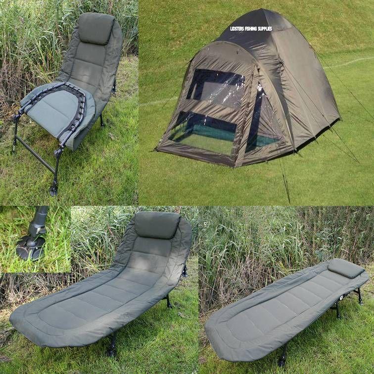 Details about 2 Man Double Skin NGT Green Carp Fishing
