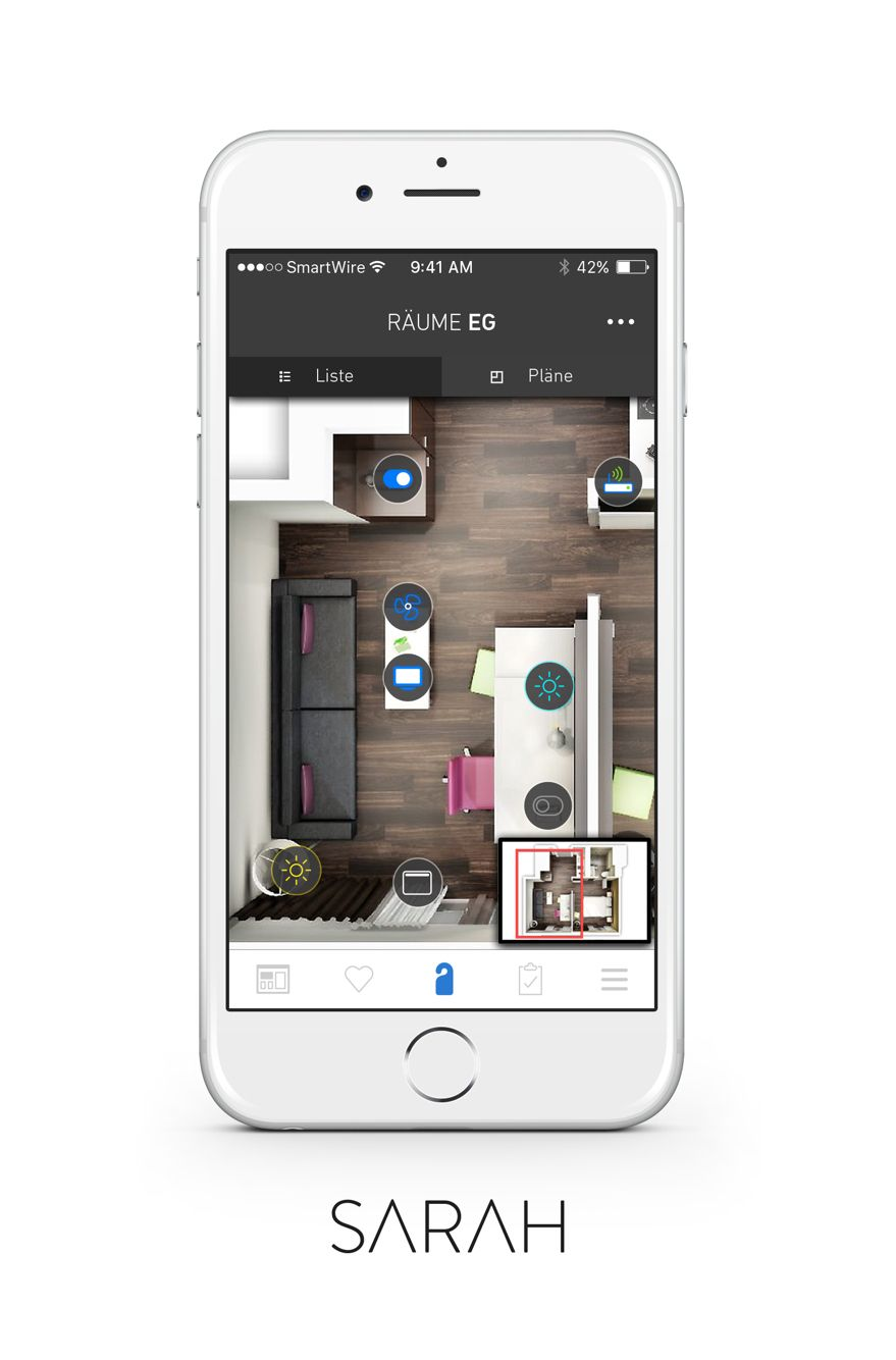 SARAH Smarthome System by http//hubware.house/produkte