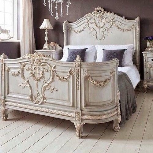 Antique French Style Bed Gorgeous
