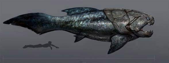 ダンクルオステウスとかいう魚wwwww:ハムスター速報   ハムスター速報、先史時代、海獣