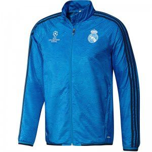 67f35fda6c3 15-16 Season Real Madrid C.F Champion Leauge Blue Training Jacket  E703