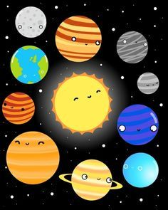 Tumblr Sistema Solar Buscar Con Google Solar System Art Solar System Solar System Projects