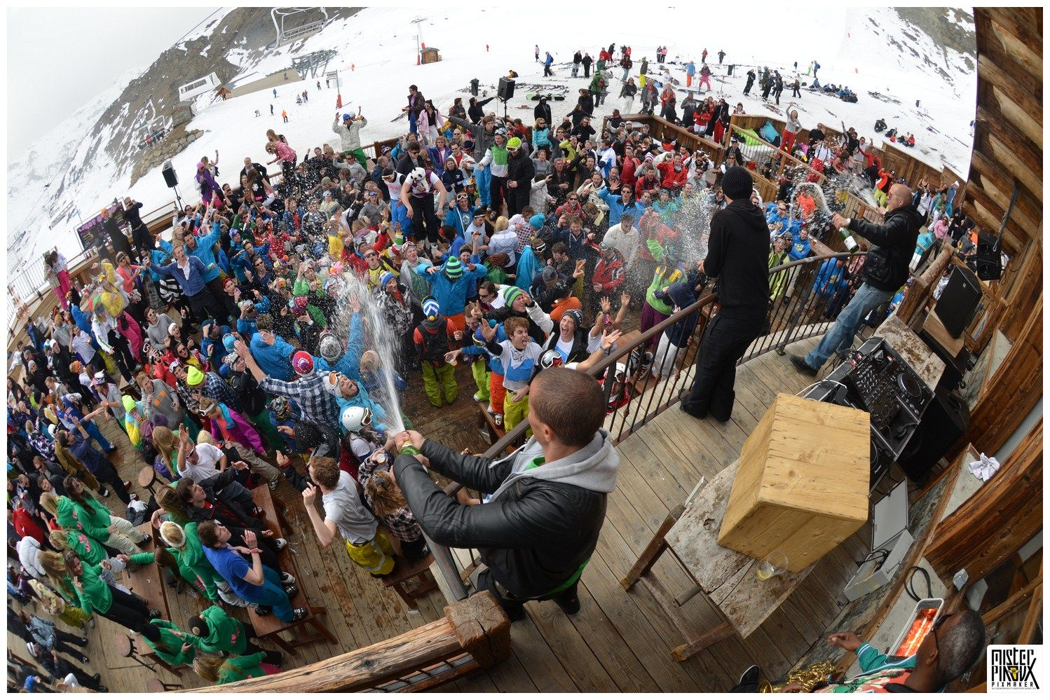 Partying On Top Of The World At La Folie Douce Val Thorens If You