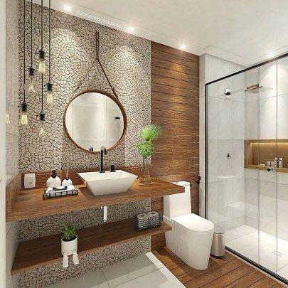 30+ Stunning Bathroom Storage Shelves Organization Ideas - COODECOR