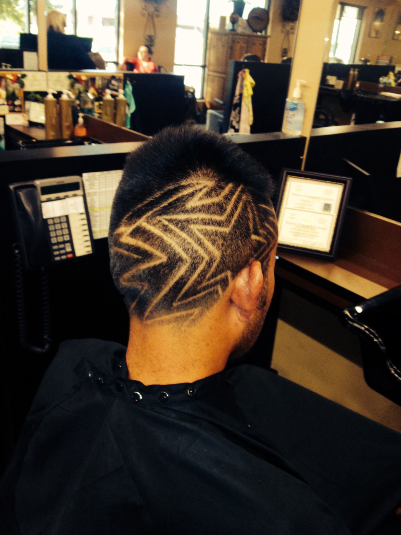 Black men hair line images colors as well hair studio design ideas - Men S Hair Design By Me