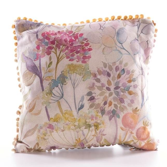Hedgerow, Mini Cushion by Voyage Maison