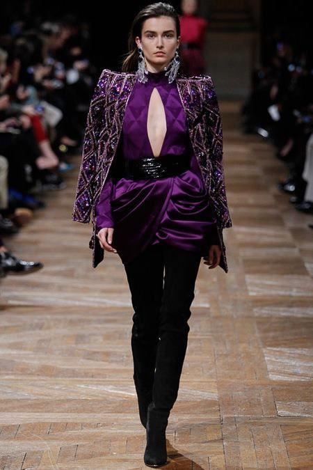 BALMAIN Fall Winter 2013/2014 – Paris Fashion Week