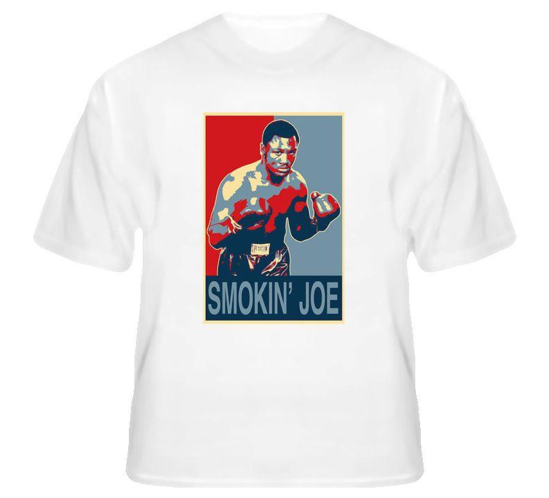cf82b24715b3 Joe Frazier Smokin Joe Hope Boxing T Shirt | Joe Frazier Boxing T ...