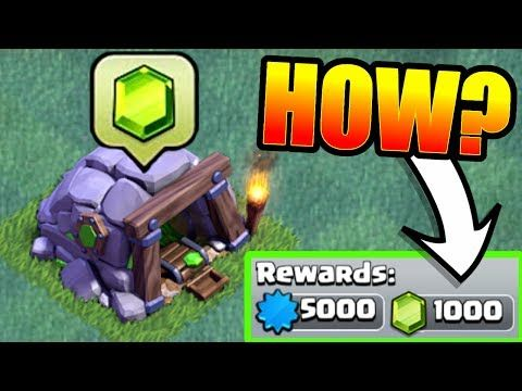 How To Get 1000 Free Gems In The Builders Hall Village Clash Of Clans New Achievements Youtube Clash Of Clans Clash Of Clans Gems Clash Of Clans Game