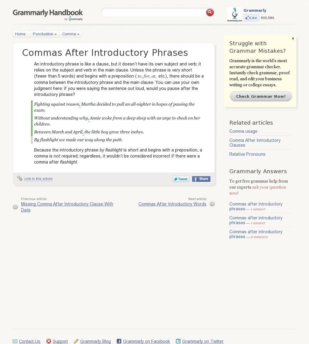 The Website Ammarly Handbook Punctuation