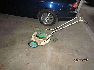 Vintage Century Eclipse 3 Wheel Pivot Mower With Briggs Motor Model 6bh 3rd Wheel Mower Pedal Cars