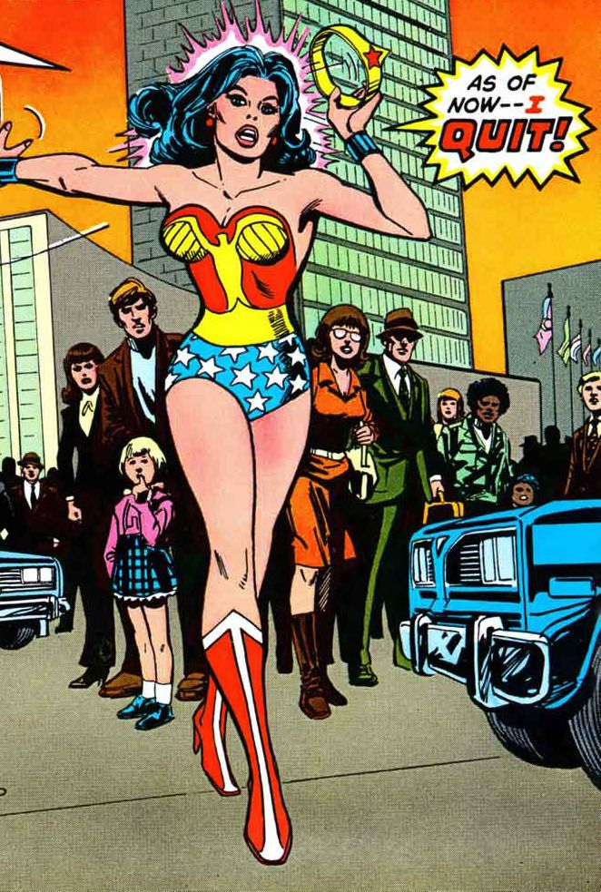 Wonder Woman quits - and trust me, it feels so good.