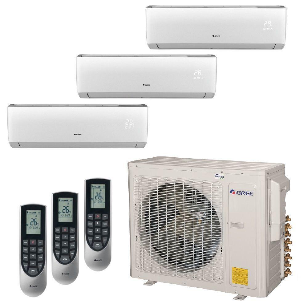 Gree Multi 21 Zone 29000 Btu Ductless Mini Split Air Conditioner