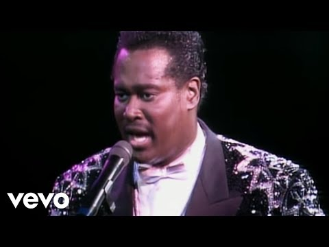 Luther Vandross A House Is Not A Home From Live At Wembley Youtube Luther Vandross Luther Vandross Music R B Love Songs