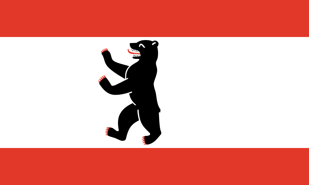 Flag Of Berlin Wikipedia The Free Encyclopedia City Flags Berlin Flag German Flag