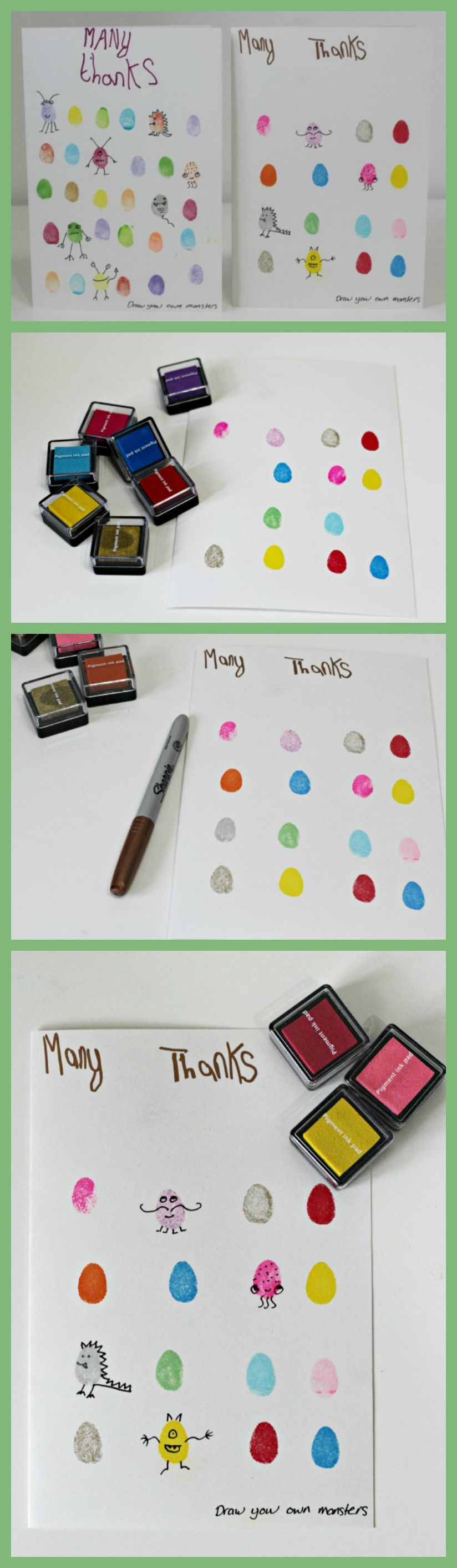 make your own thank you cards