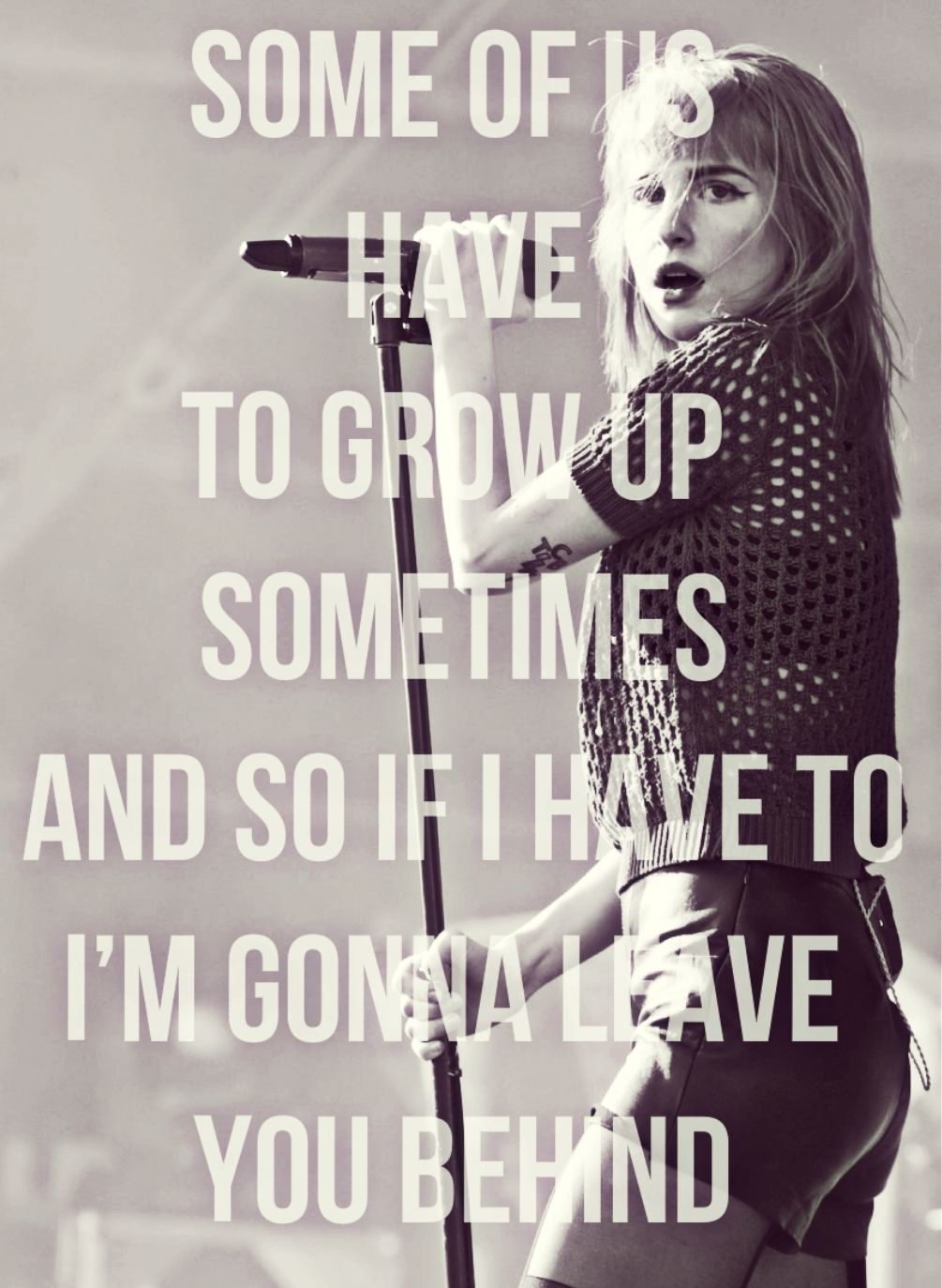 paramore quotes | Tumblr | words to live by | Paramore ...