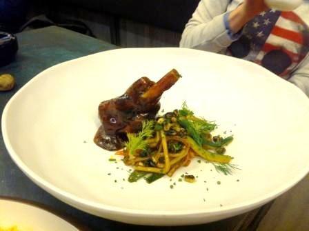 #JarreteDeCordero lechal en el Restaurante #StreetXO