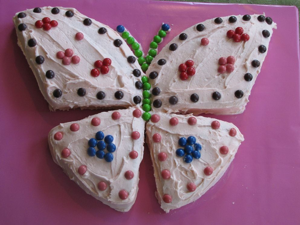 Butterfly cake Going to try this for my babies 1st birthday cake