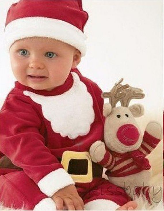 Baby Clothes Christmas Outfit