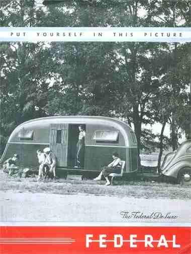 AMERICAN TRAILERs - Vintage RV Travel Trailers, TEARDROP's, MOTORHOMES & WOODIES