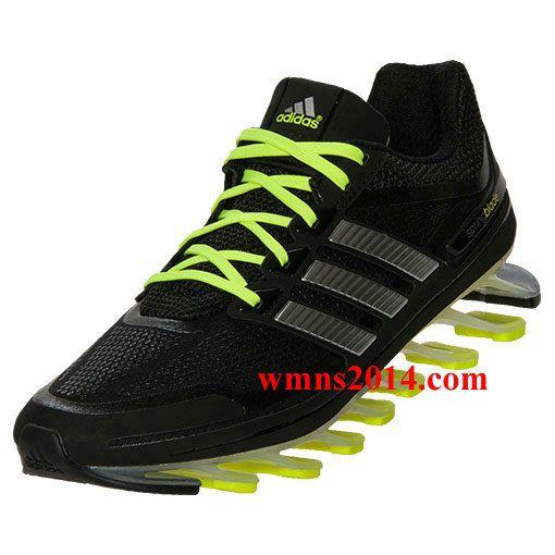 newest 7cbd1 72227 Adidas Springblade Mens Black Silver Electricity G66970 SLE ...