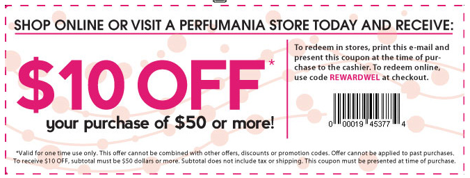 70 Off Perfumania Coupons, Coupon Codes 3 Cash Back 2020