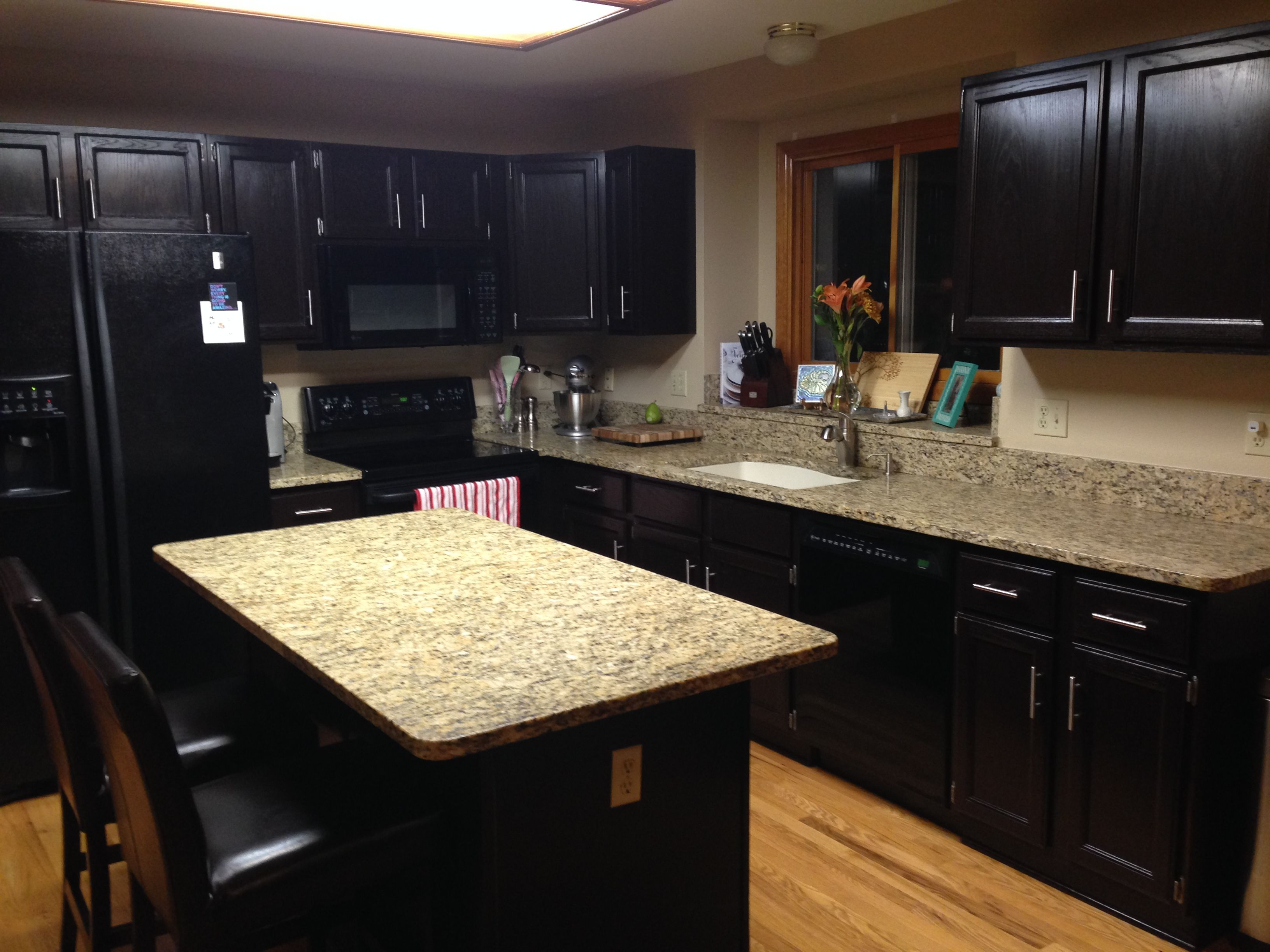 Java wood stain   Stained kitchen cabinets, Gel stain ...