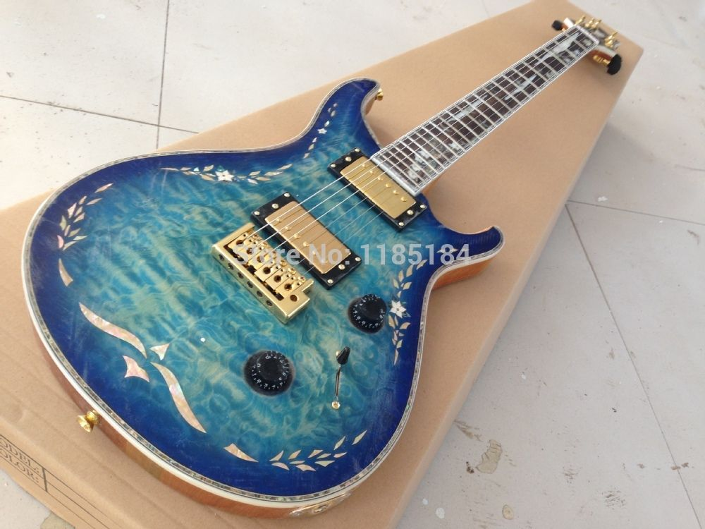 Aliexpress.com : Buy high quality real  Abalone  PRSR electric guitar with fingerboard inlay from Reliable electric guitar natural suppliers on Sino-Korea BC Musical Instrument Co.,Ltd