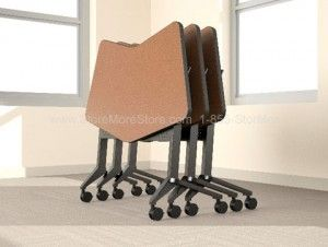 FlipNGo Transition Nested easy store desks tables nesting folding tableFlipNGo Transition Nested easy store desks tables nesting folding  . Folding Conference Room Chairs With Wheels. Home Design Ideas