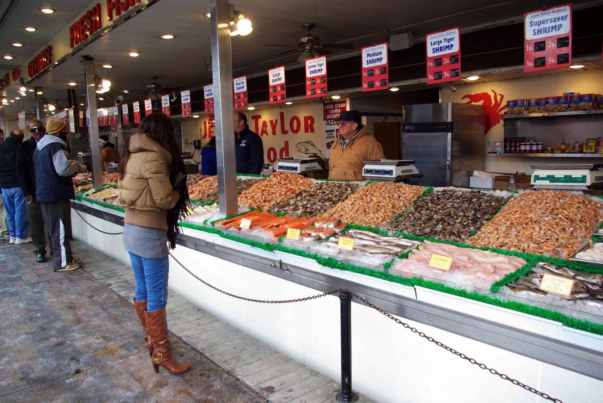 Washington D C Waterfront Fish Market Fresh Food Market Food Market Fresh Food