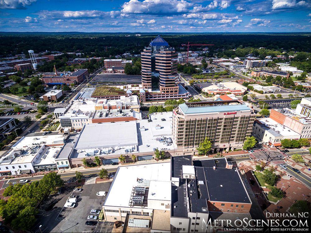 Metroscenes Com Downtown Durham Nc Skyline And Aerials City