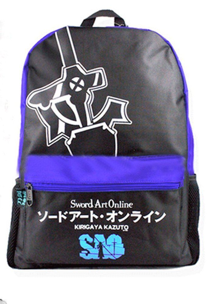 Camplayco Sword Art Online Cosplay Backpack for School *** See this great product.