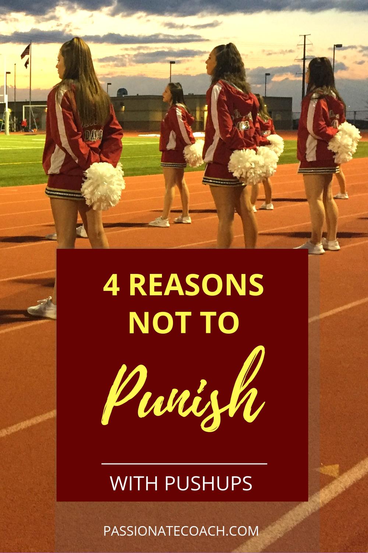 4 Reasons Not To Punish With Pushups Team bonding