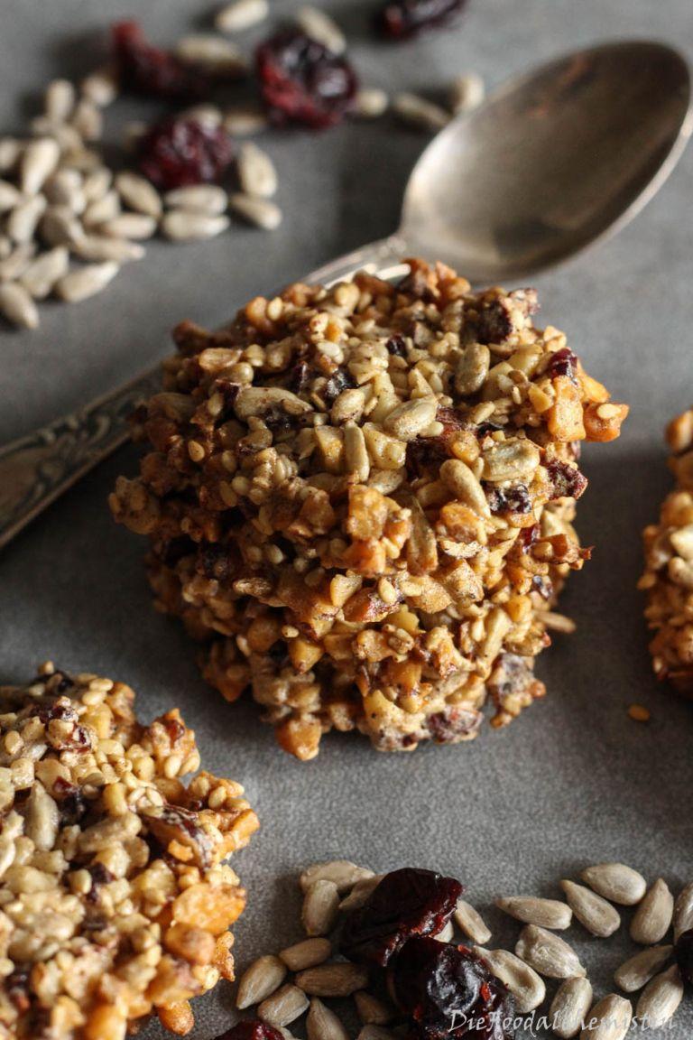 Vital Cookies mit Honig