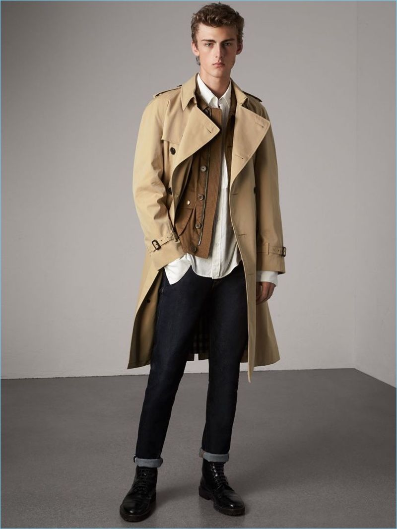 Fall in Love  6 New Burberry Trench Coats   Men s Coats   Pinterest ... 2e2e2089a61a