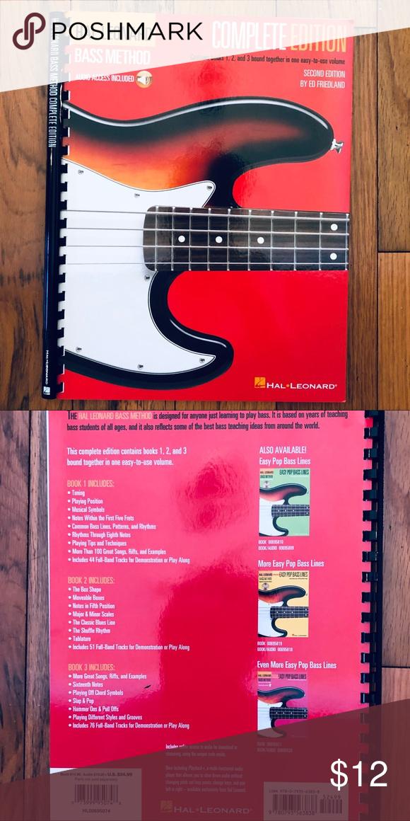 Hal Leonard Bass Method Complete Lesson Book Good Books Hal Leonard Lesson